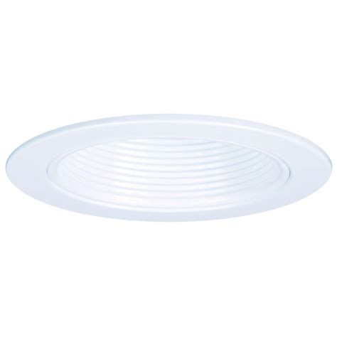 halo light trim rings halo e26 series 4 in white recessed lighting plastic step