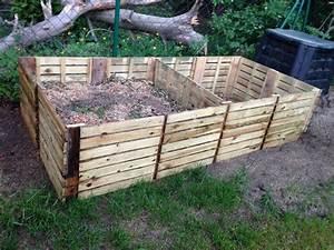 Komposter Selber Bauen Metall : komposter gebaut aus terrassenlatten 50x50 garten ~ Watch28wear.com Haus und Dekorationen