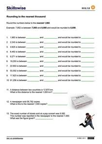 rounding worksheets pdf rounding to the nearest thousand