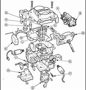Ajuste De Motor  Despiece Carburador Weber 2v Dftm  Modelo