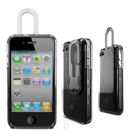 iphone with clip intriguing new iphone 4 design from agf isource