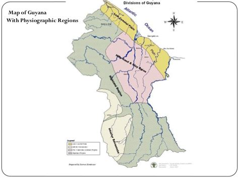 Map Four Showing Natural Regions Guyana  Natural Regions Of Guyana Showing The Map on guyana map with regions, map showing capital of brazil, 4 major natural regions, map showing the great basin, map of the guyana showing administrative regions,