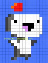 Best 25+ ideas about Easy Pixel Art Templates | Find what you\'ll love