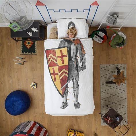 chambre chevalier housse de couette enfant 3d chevalier snurk avec taie ma