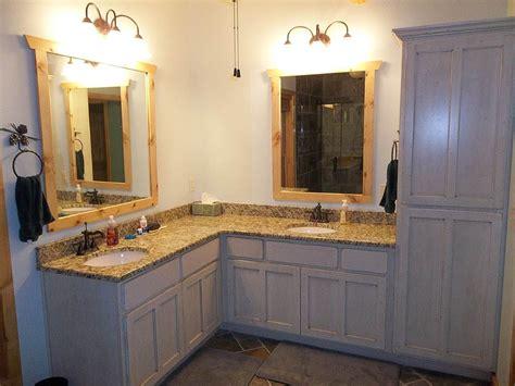 double sink corner vanity google search bathroom