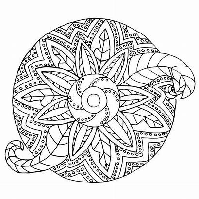Mandala Coloring Pages Mandalas Adult Adults Metallic