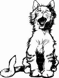 Meow Cat Clip Art
