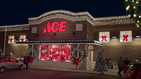 ace hardware outdoor christmas decorations ace hardware black friday savings tv commercial lights ispot tv