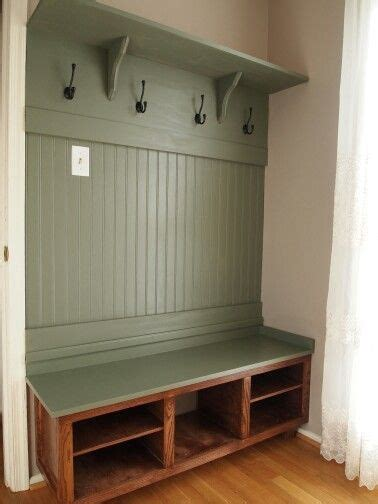 Mud Room Bench and Coat Rack