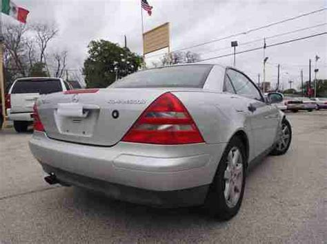 It was built in bremen, germany; Purchase used 99 MERCEDES BENZ SLK 230 COMPRESOR CONVERTIBLE LEATHER WARRANTY in Houston, TX ...