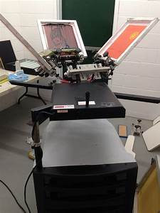 Complete Manual Screen Printing Set Up
