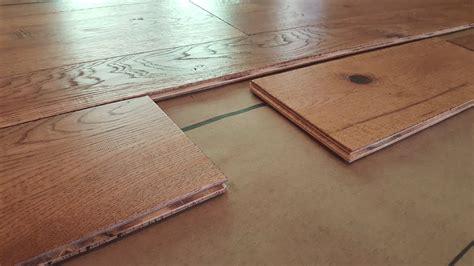 Install Engineered Hardwood Flooring Youtube
