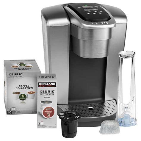 At your doorstep faster than ever. Keurig K-Elite C Single Serve Coffee Maker, 15 K-Cup Pods ...