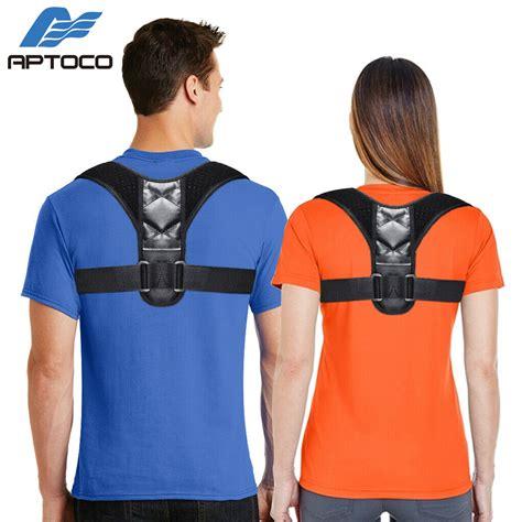 APTOCO Posture Corrector for Men and Women, Adjustable ...