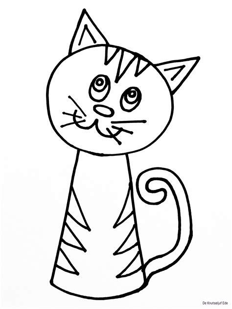 Poezen Kleurplaten Printen by Katten Kleurplaten Printen Artismonline Nl