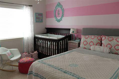 Megan's Pink Ombre Striped Nursery
