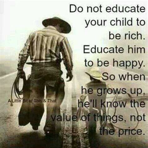 dont educate  child   rich  unknown education