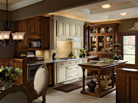kraftmaid cabinets purchase kitchen in chocolate and canvas with cocoa glaze kraftmaid