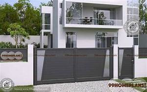 House Main Gates Design Ideas with Combined with Steel and