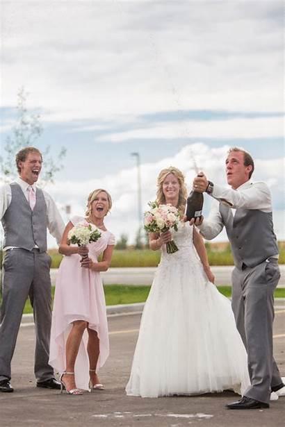 Champagne Bride Janine Park Groom Weddings Popped