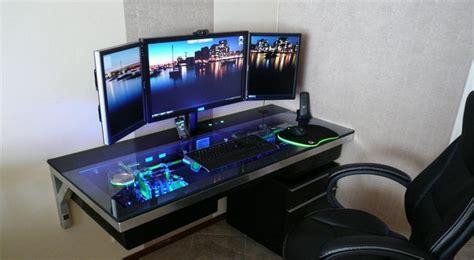 build a computer desk 3500 km to holte computer case desk build stashes cpu in