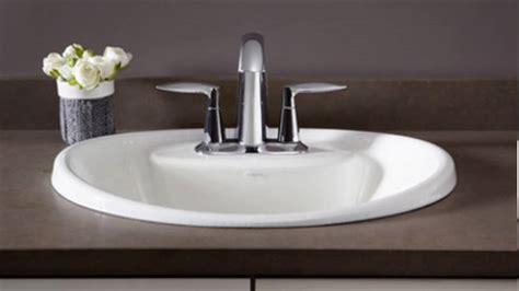 In Bathroom Sink by Drop In Bathroom Sinks