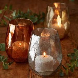 Abstract, Glass, Candle, Holder, By, The, Christmas, Home
