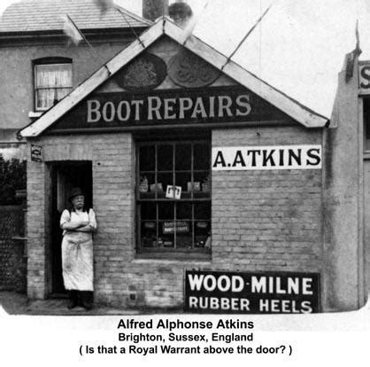 Boat Repair Shops In Ontario by Above Photograph Of Alfred Alphonse Atkins Outside His