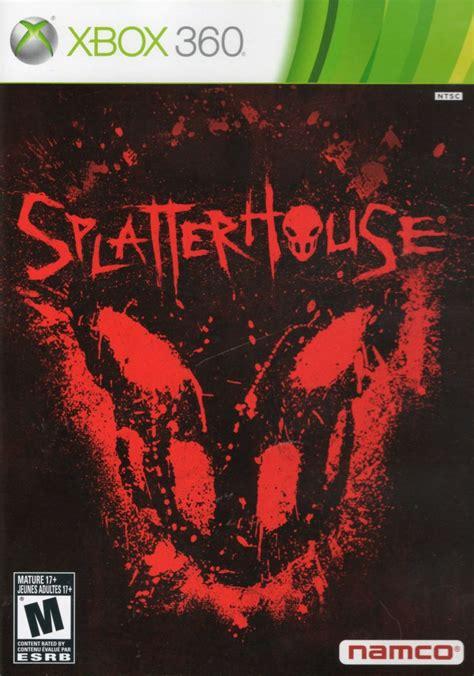 Splatterhouse 2010 Xbox 360 Box Cover Art Mobygames