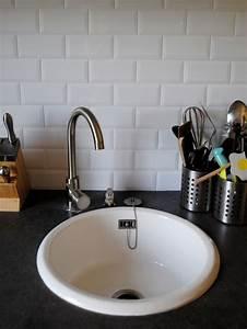 Lave Vaisselle Metro : cuisine plan de travail effet b ton cir vier rond ~ Premium-room.com Idées de Décoration