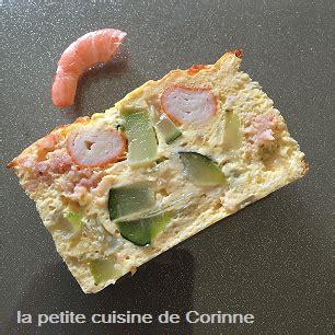 la cuisine de corinne terrine courgettes crevettes surimi la cuisine de