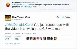 "OOPS! McDonald's Tweets That Its Own Video Is ""Bad ..."