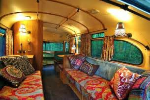 Downsizing Closet by 1959 Viking Short Bus Converted Into Cabin On Wheels You
