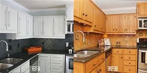 Cuisine Bois : relooker armoire de cuisine en bois