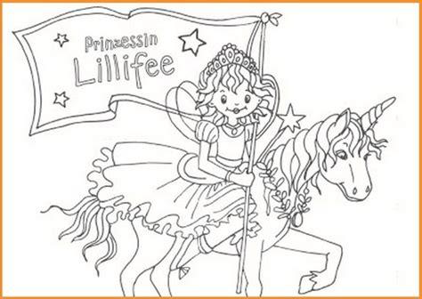 Ausmalbilder Lillifee Und Das Kleine Einhorn