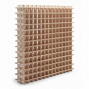 Casier à Bouteilles : casier 169 emplacements bois brut leroy merlin ~ Teatrodelosmanantiales.com Idées de Décoration