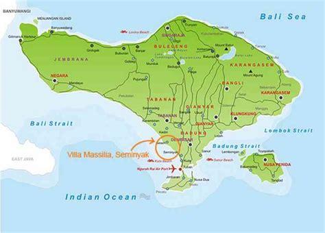 map  seminyak bali holidaymapqcom