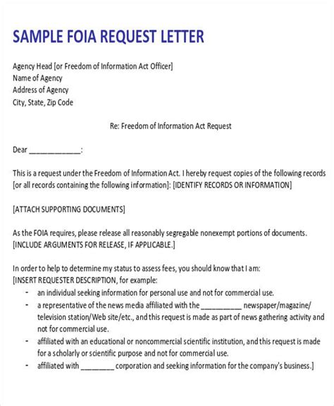 formal request letters