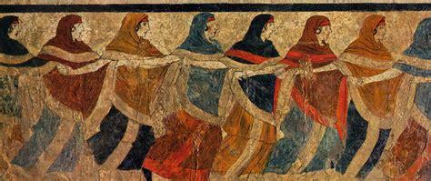 antichi vasi funebri riti etruschi di sepoltura