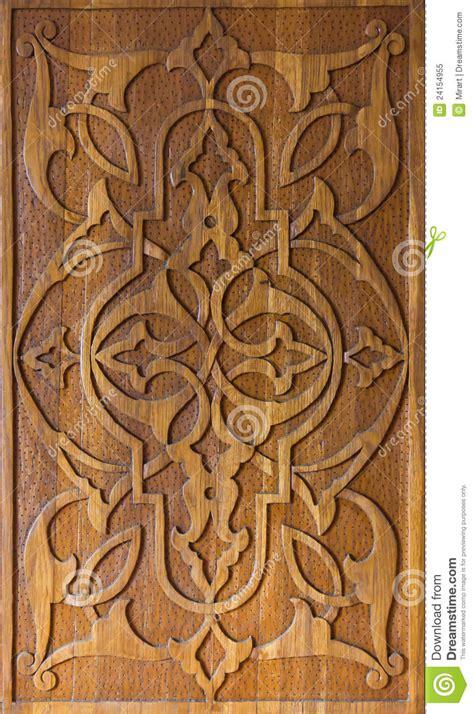 art  wood carving stock illustration image  ornate