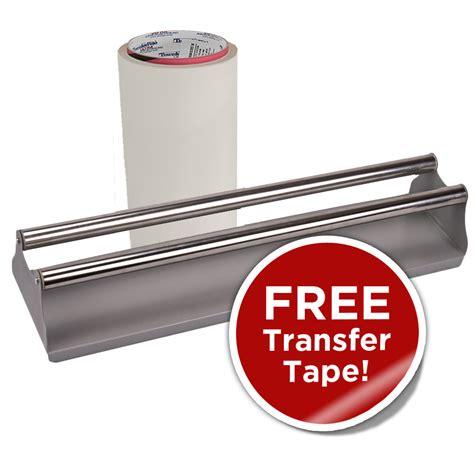 tape roller application transfer uscutter