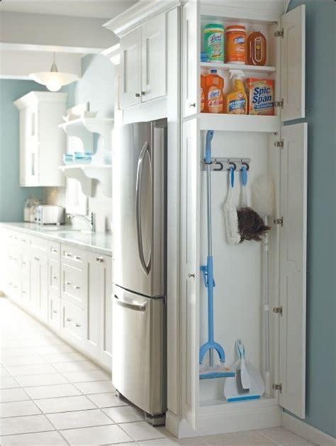 The Broom Closet by Pinspired Home Improvised Broom Closet