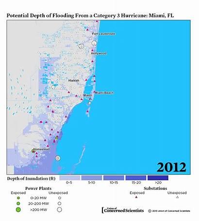 Storm Energy Surge Maps Blackouts Lights Coastal