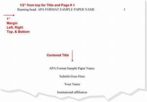 title apa format cover page apa pinterest apa format With apa abstract page template