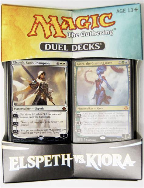 Mtg Kiora Kraken Deck by Elspeth Vs Kiora Magic The Gathering Duel Decks Englisch Mtg