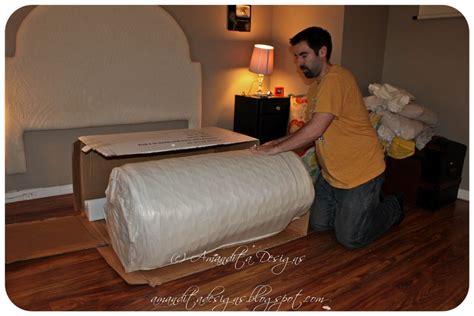 mattress in a box bedroom redo