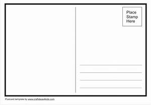 make your own postcard posts and writing papers on pinterest With create your own postcard template