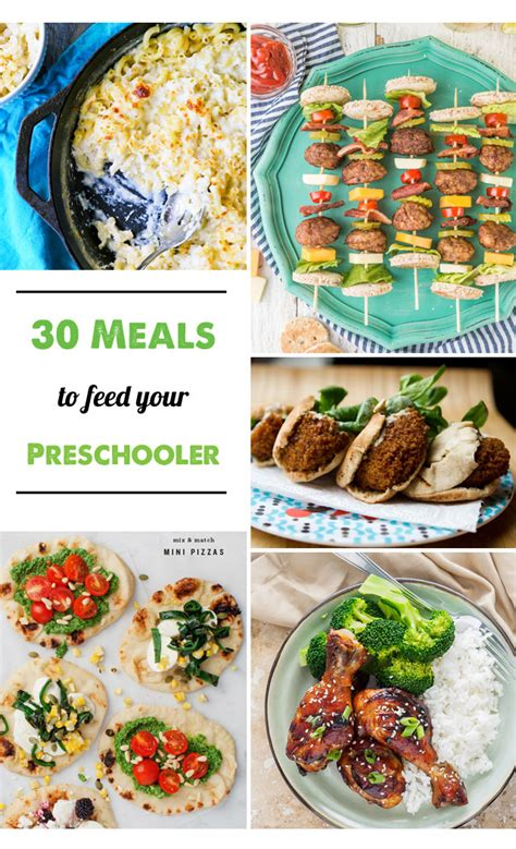 Picky eaters—we've all heard the term and many of us have at least one at home. 30 Dinner Recipes to Feed Your Preschooler - this was such ...