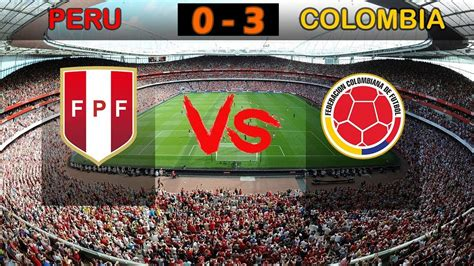 Podrás disfrutar de la señal en vivo y de toda la programación con lo mejor de la producción nacional peruana como todos los partidos de la selección peruana. 🔥Peru Vs Colombia - Highlights 10/06/2019 International ...