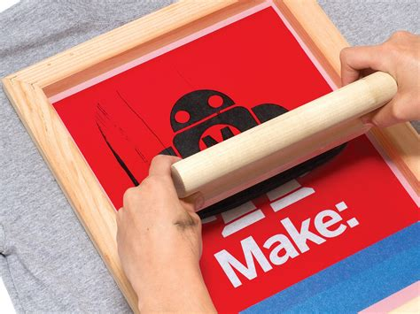 how to print on silk simple silk screen printing using a vinyl cutter make
